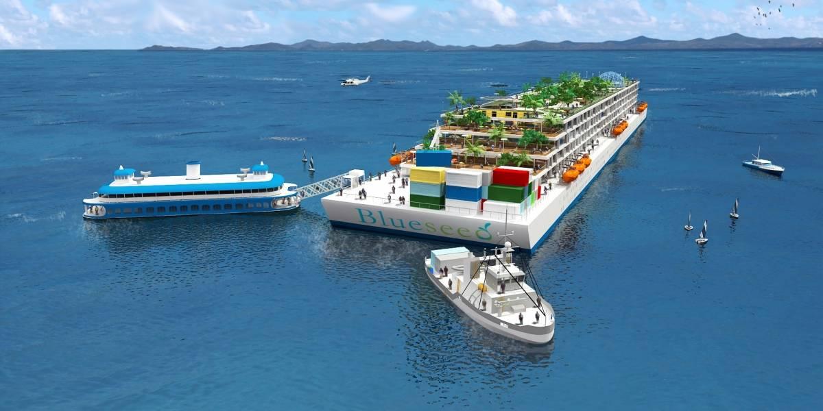 Isla flotante de emprendimientos busca pequeños inversionistas en Latinoamérica