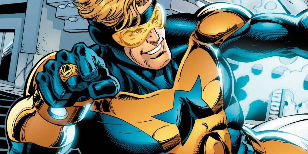 Warner Bros trabaja en película del viajero Booster Gold