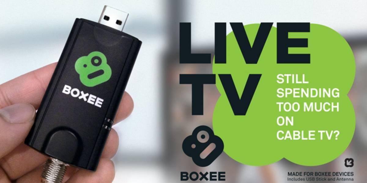 Boxee dongle: TV abierta y contenidos de internet en un solo lugar