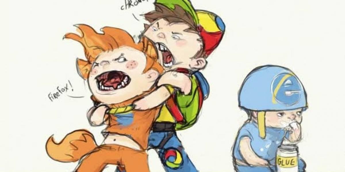 Internet Explorer finalmente perdió la mayoría absoluta entre los navegadores