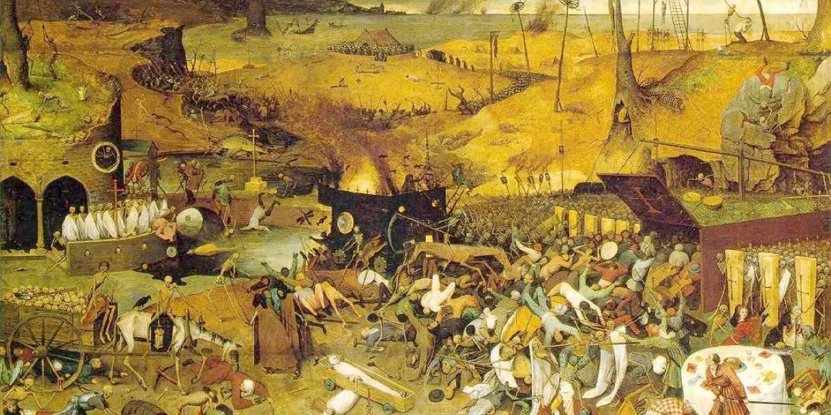 La peste negra fue un evento de selección natural