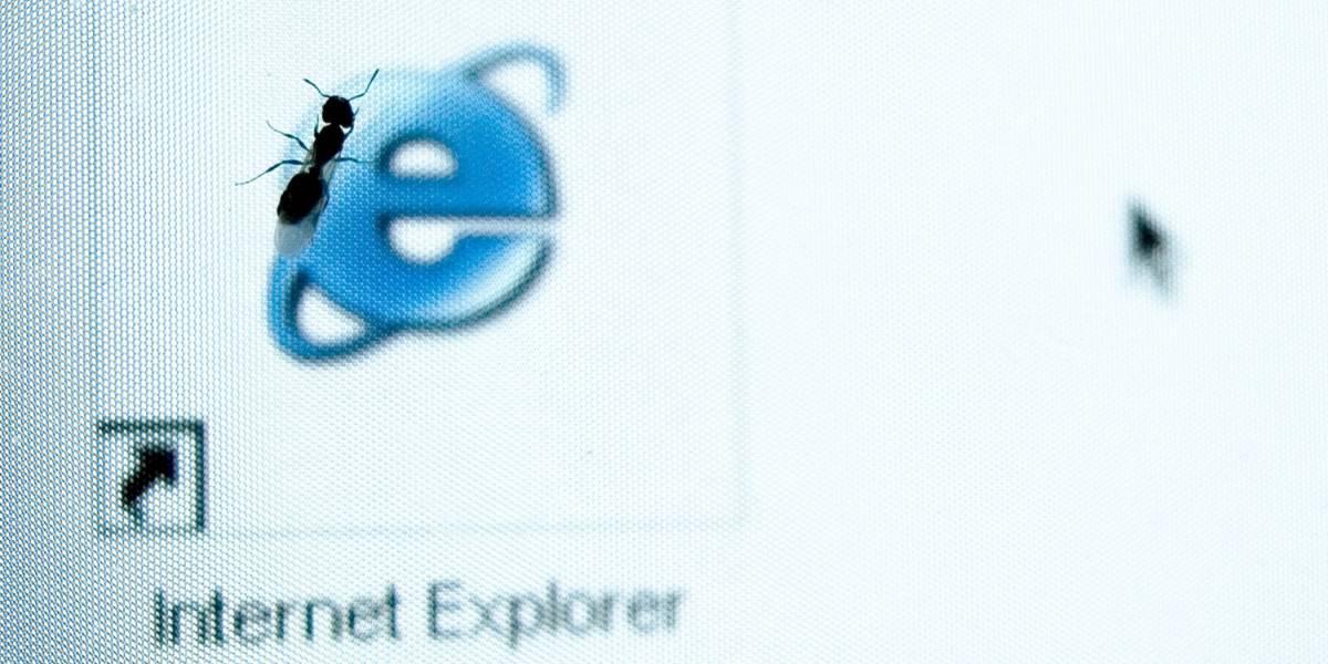 Todas las versiones de Internet Explorer tienen un grave problema de seguridad
