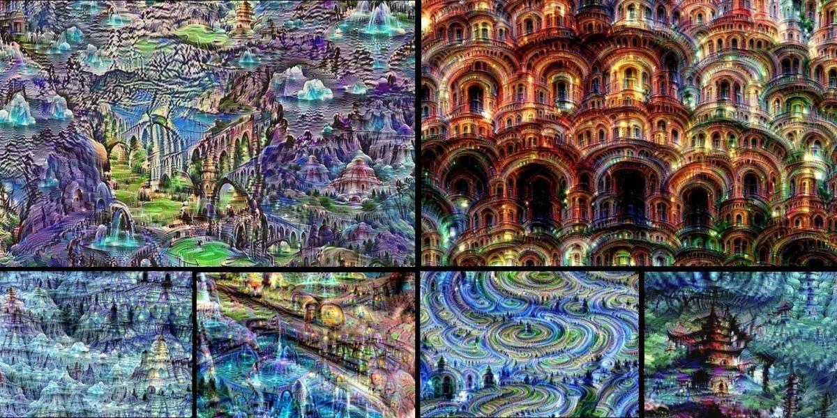Conoce las lisérgicas imágenes que crea una inteligencia artificial tratando de reconocer fotos