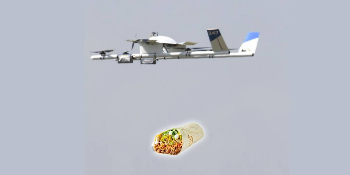 Google comienza pruebas de drones repartidores de comida