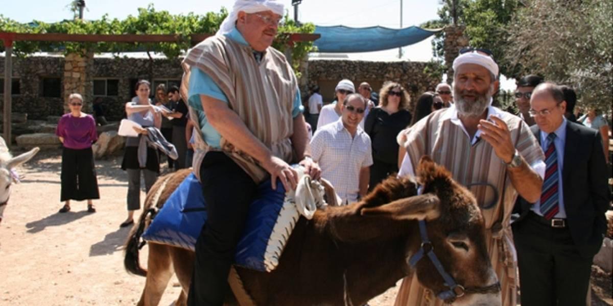 Parque temático israelí instala WiFi en burros