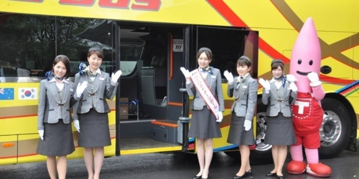 Japón prueba puertos USB en los buses del transporte público