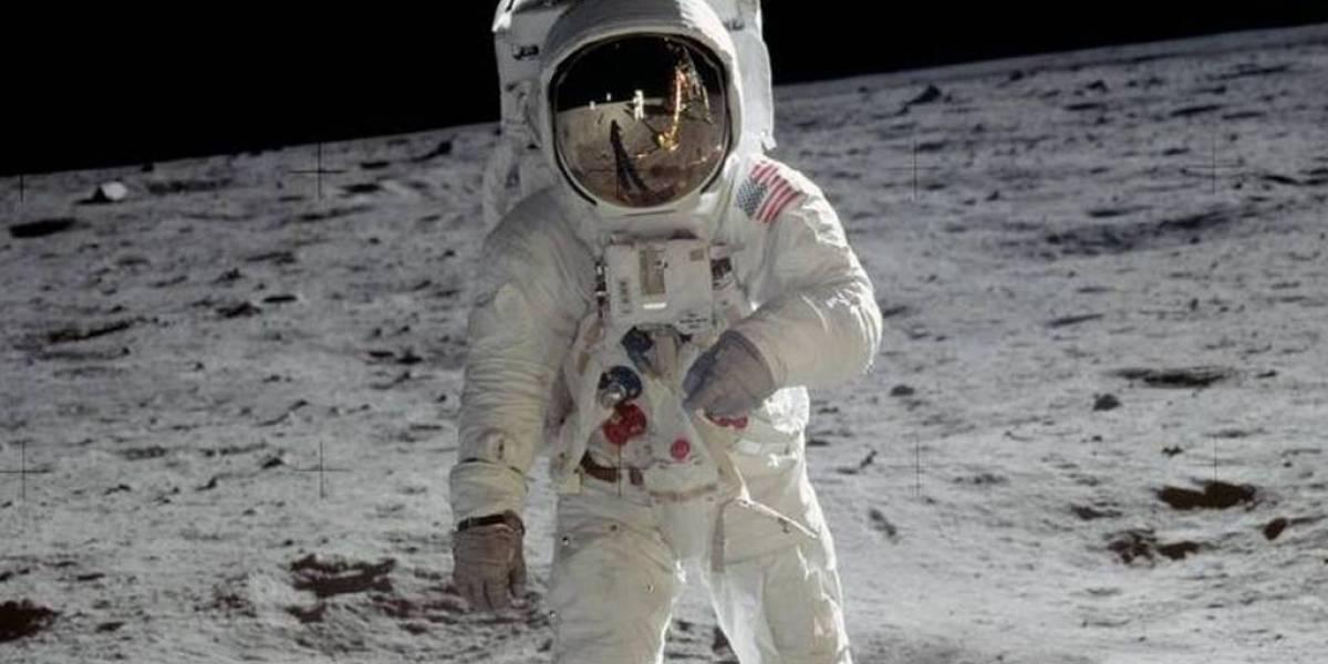 Buzz Aldrin revela la historia detrás de su foto en la Luna