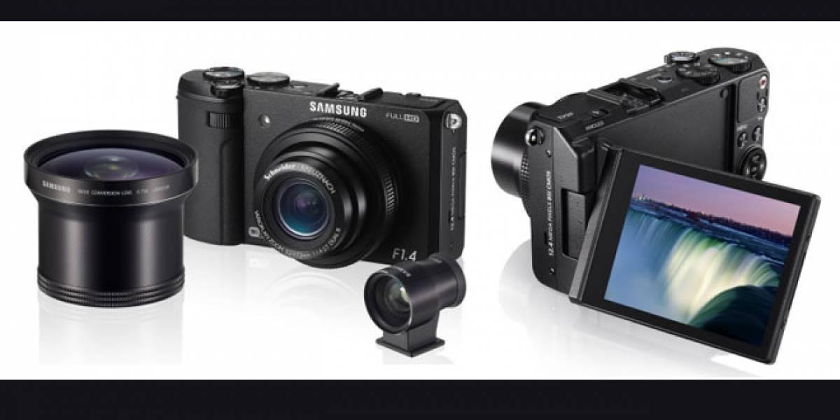 Samsung presenta su cámara EX2F con lente de alta luminosidad y WiFi incorporado