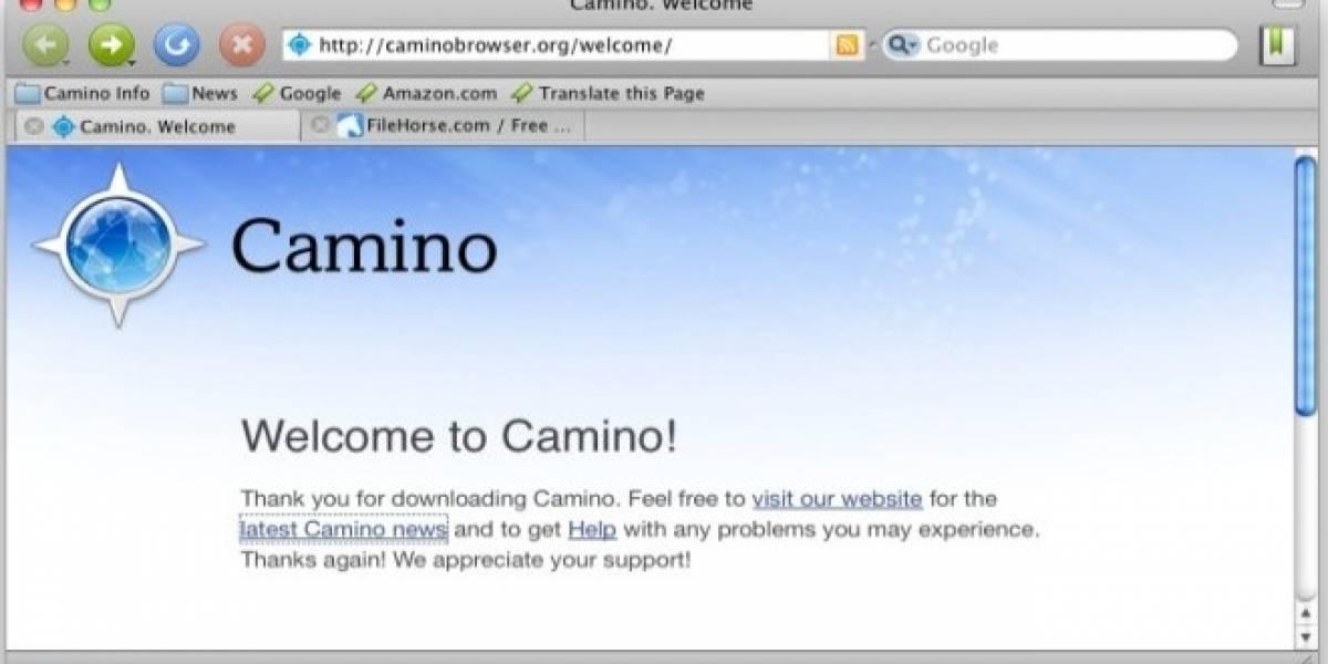 El navegador Camino para Mac se despide después de una década