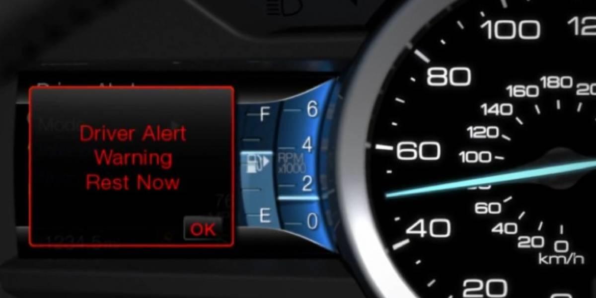 Ford crea sistema para mantener al conductor en su pista