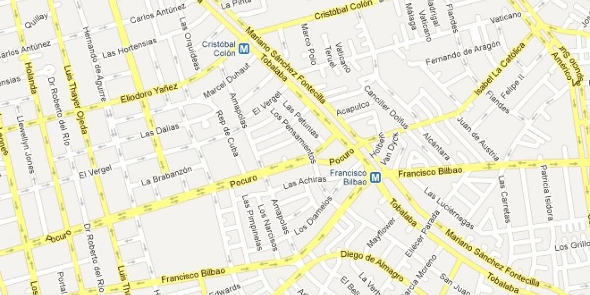 Google Maps cobrará a desarrolladores por uso de su API
