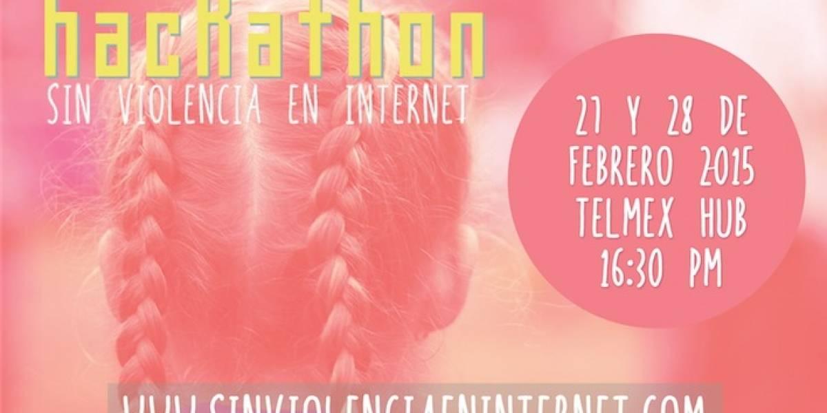 """Te invitamos al hackathón """"Sin violencia en Internet"""""""