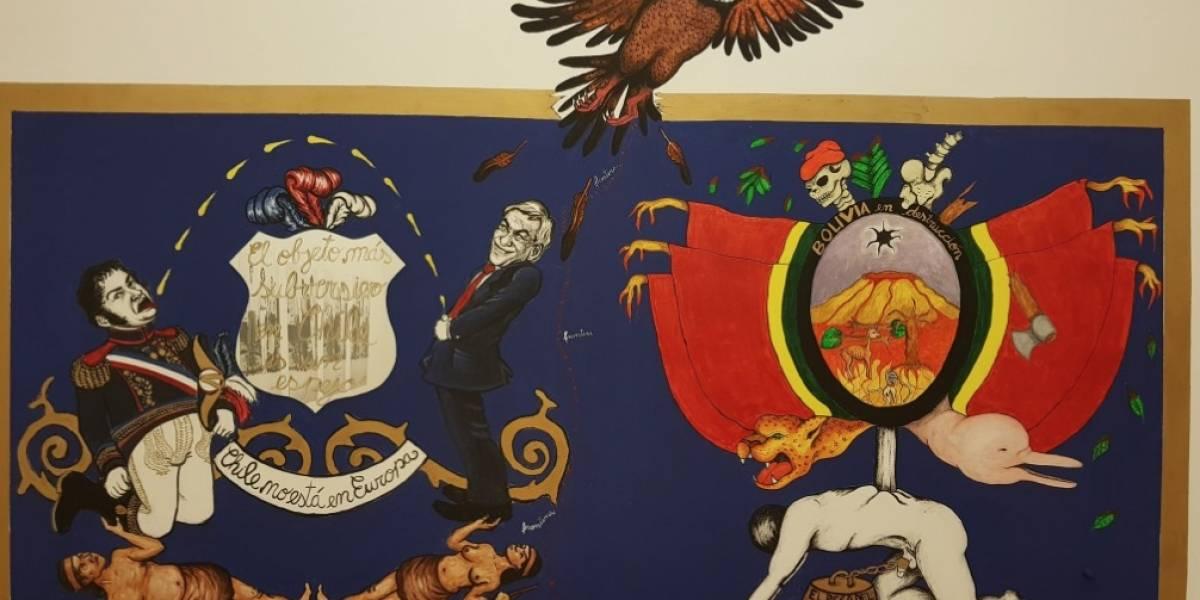 """""""¿Es arte o es falta de respeto?"""": obra del Museo de la Solidaridad Salvador Allende desata debate tuitero"""