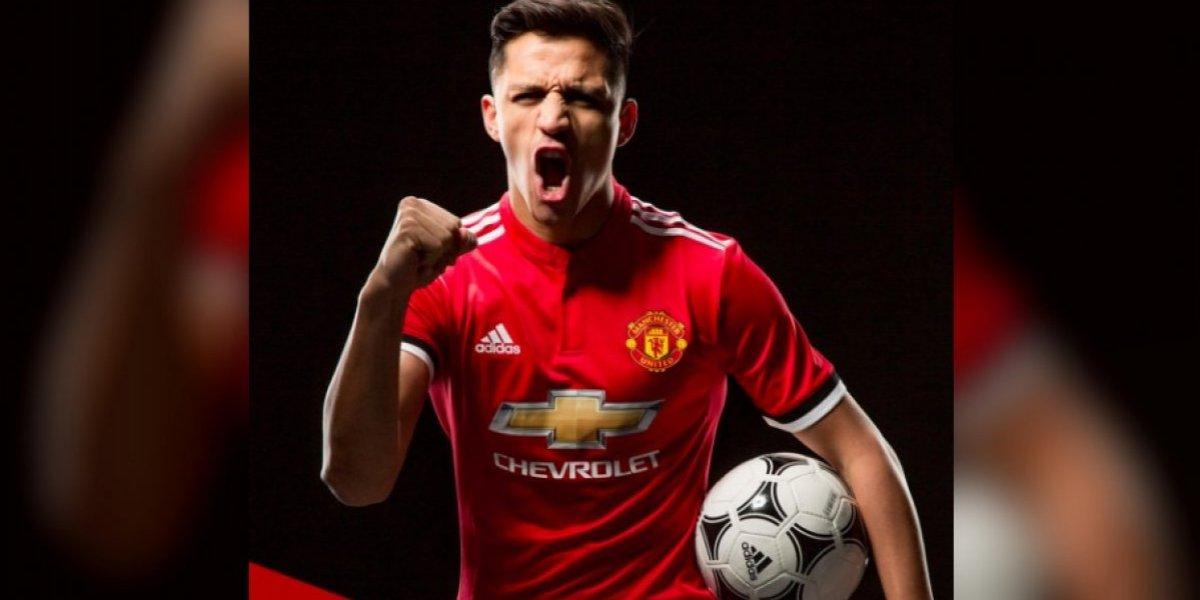 ¡OFICIAL! Alexis Sánchez llega al Manchester United