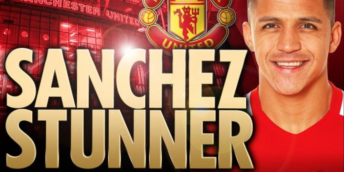 """""""Maravilloso"""": La prensa inglesa deliró con el bombástico traspaso de Alexis al Manchester United"""