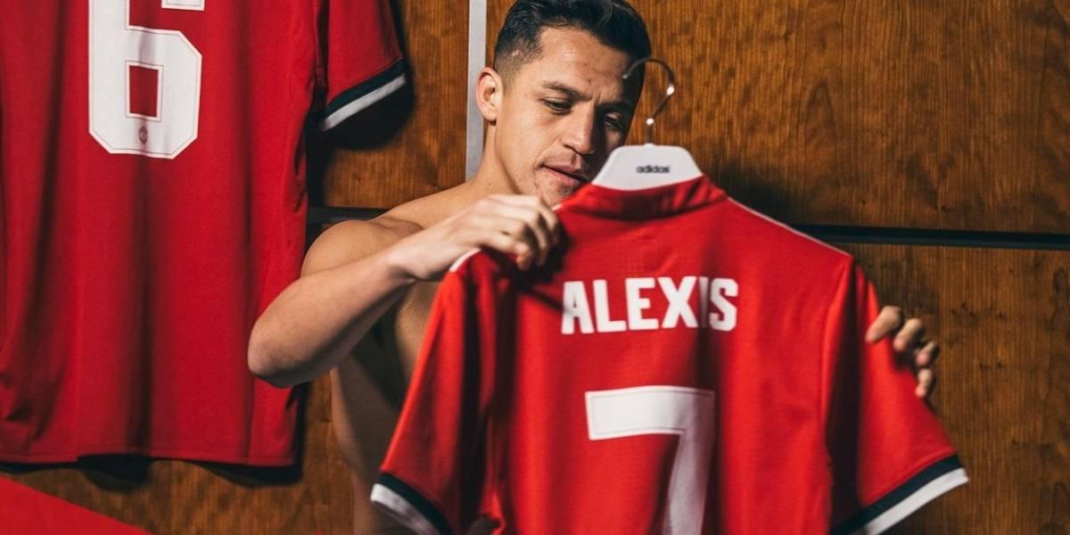 Alexis Sánchez portará el 7 en el Manchester United