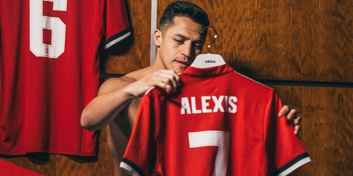 Fue una locura: los 14 equipos en los que sonó Alexis antes de fichar en Manchester United
