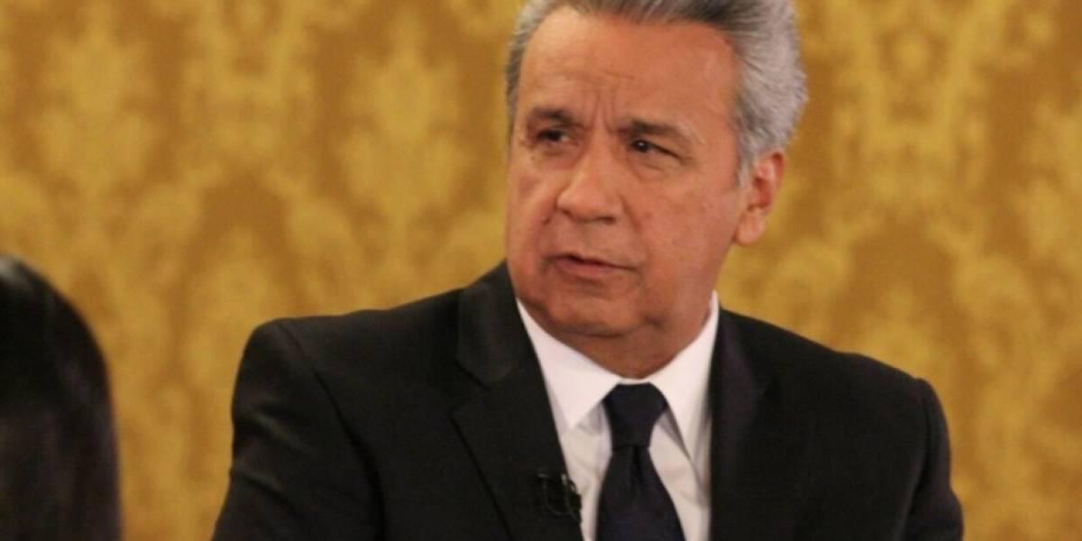 Lenín Moreno habló de funcionarios sentenciados por delitos de corrupción