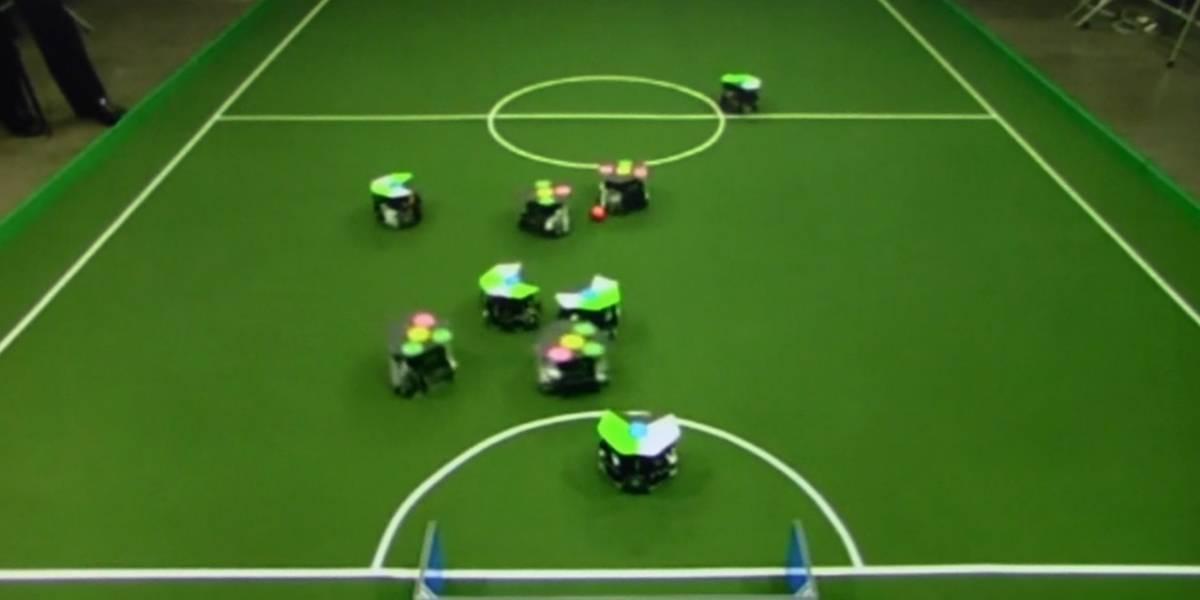 Fútbol, inteligencia colectiva y su aplicación en robótica