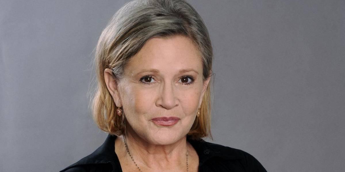 Que la Fuerza te acompañe: falleció la actriz Carrie Fisher