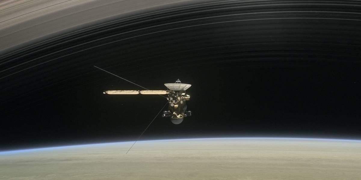 Llegó el Gran Final de la sonda Cassini