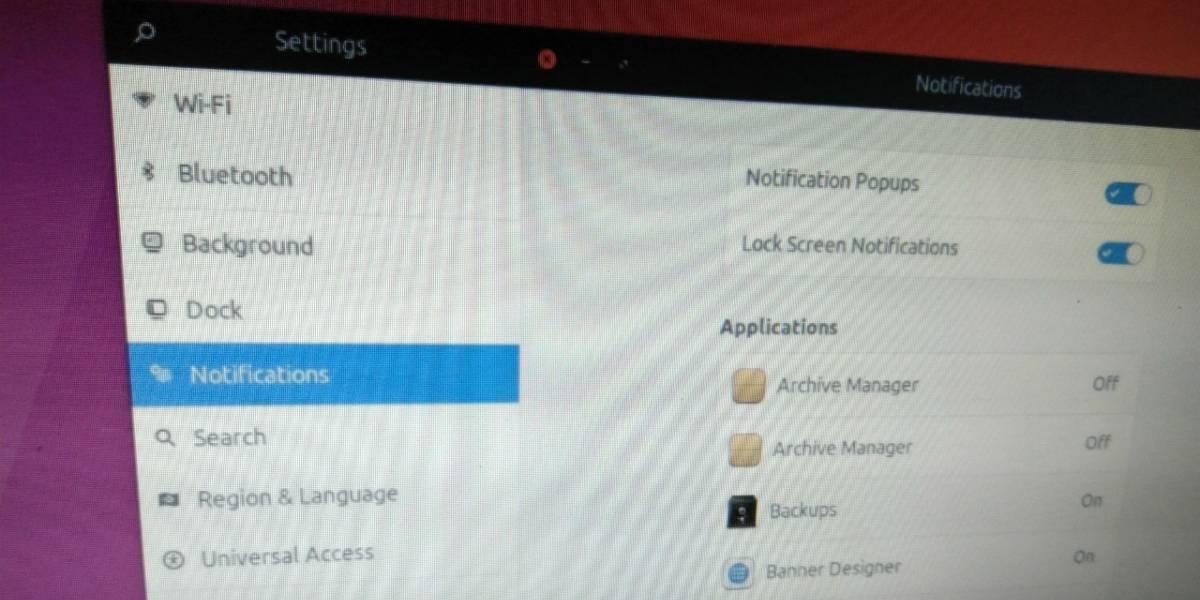 Así será el nuevo Centro de Control en Ubuntu 17.10