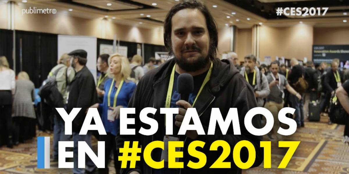Ya estamos en #CES2017 en Las Vegas [FAYERWAYER TV]