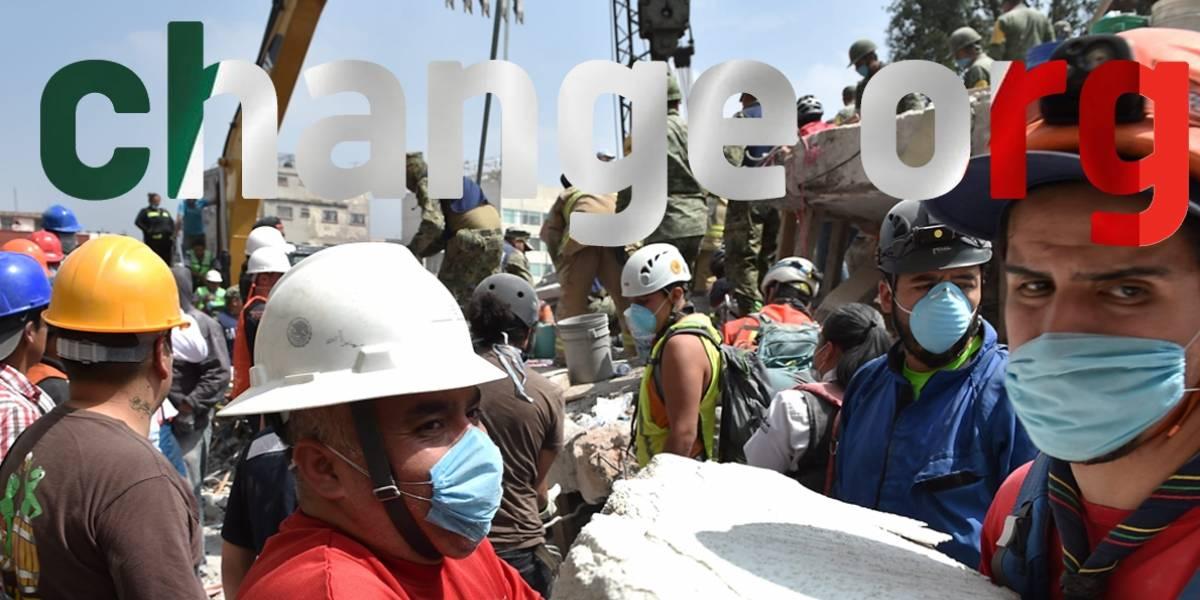 México provoca el pico de tráfico más grande en la historia de Change.org tras terremoto