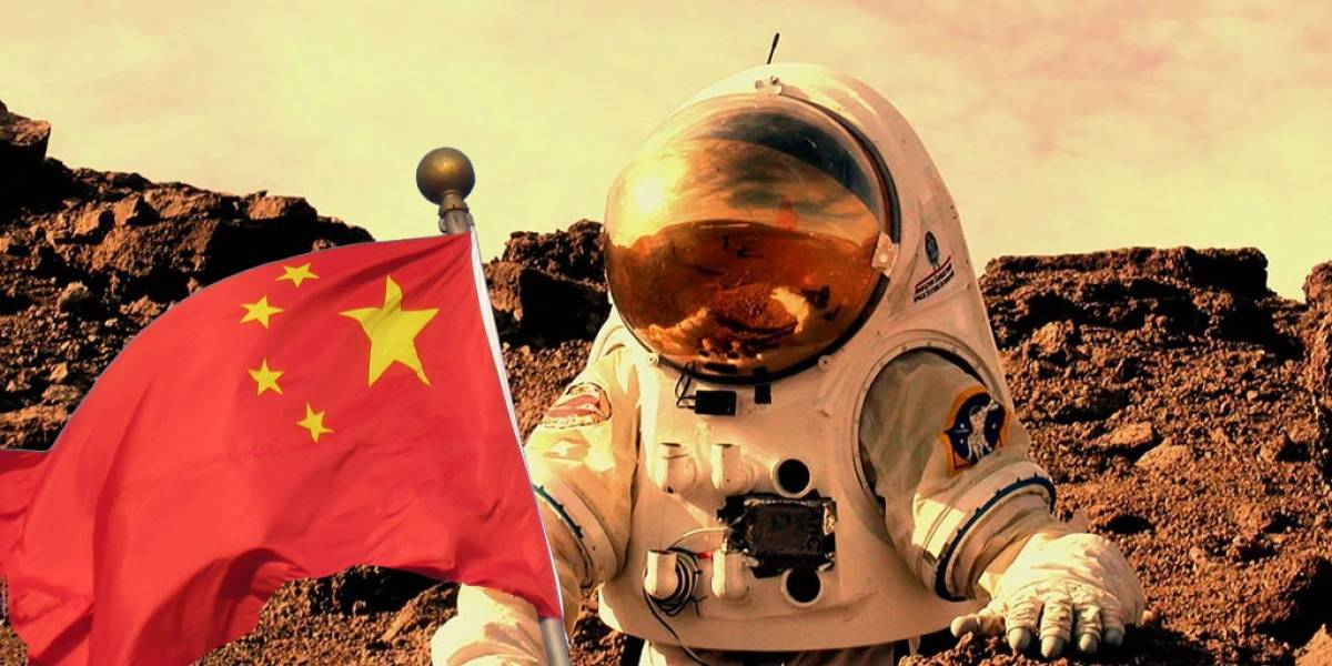China se inspira en The Martian y prepara misión espacial a Marte