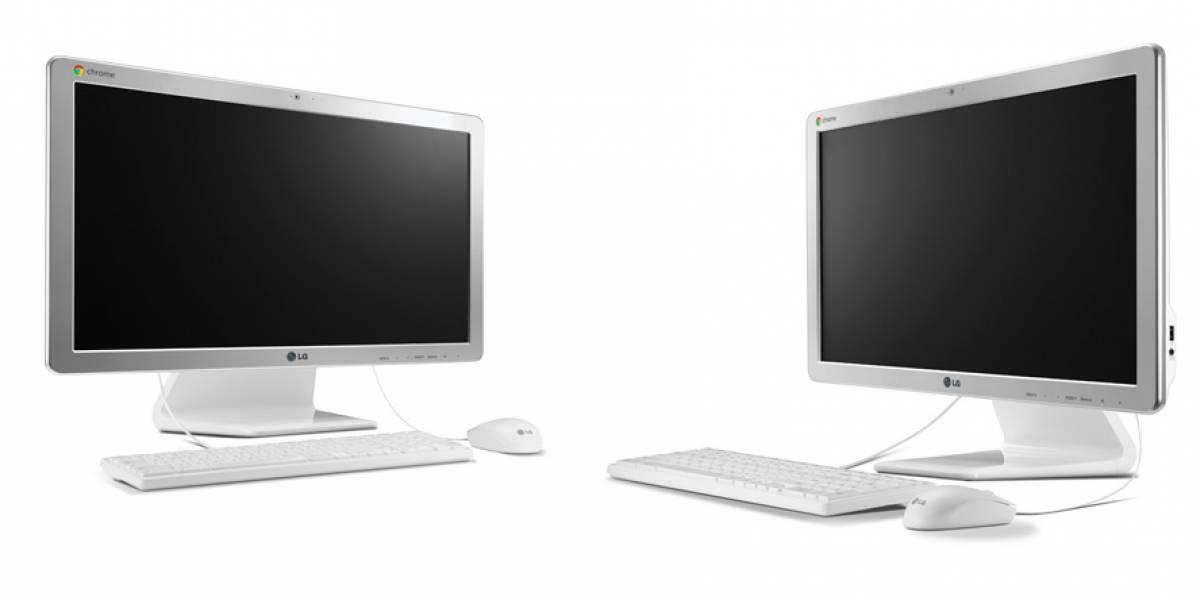 Monitor externo todo-en-uno con Chrome OS, LG Chromebase, debutará el 26 de mayo