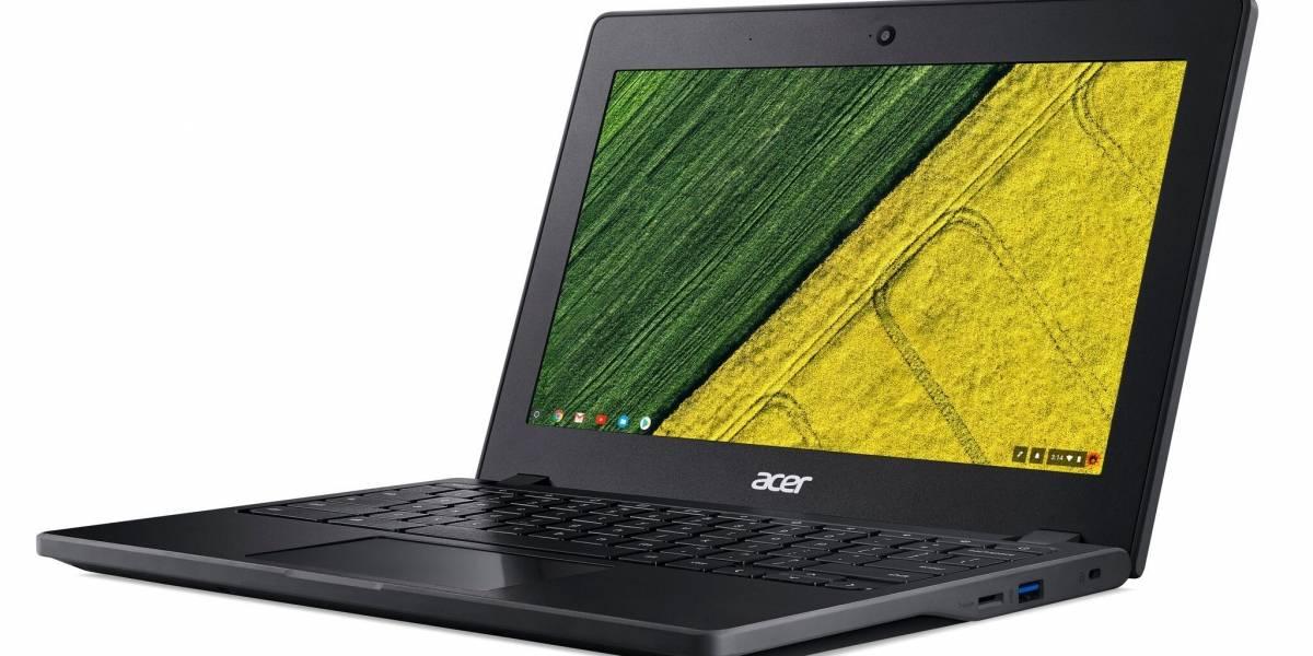Acer lanza Chromebooks con procesadores Intel Skylake