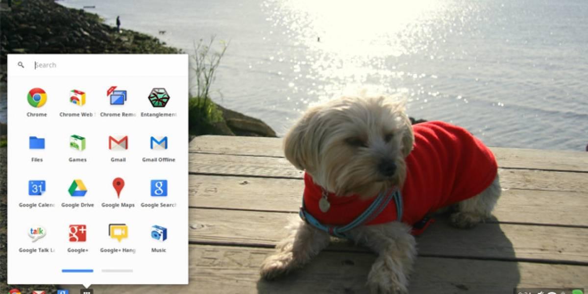 Chrome OS se actualiza y permite almacenar directamente en Google Drive