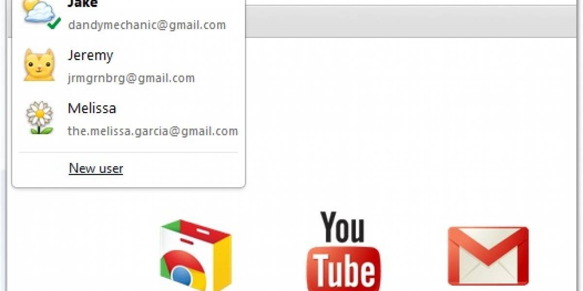 Google Chrome incorporará soporte para múltiples cuentas
