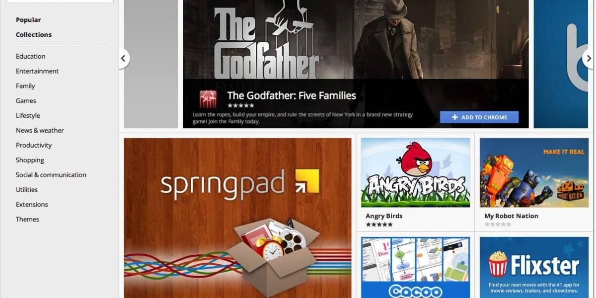 Google lanzó Chrome 15 y rediseñó su tienda web