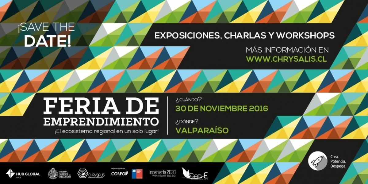 ¡La 4° Feria de Emprendimiento PUCV se vive en las calles de Valparaíso!