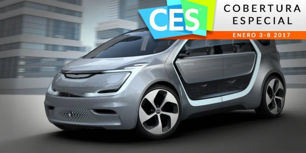 Chrysler presenta automóvil diseñado por y para millennials #CES2017