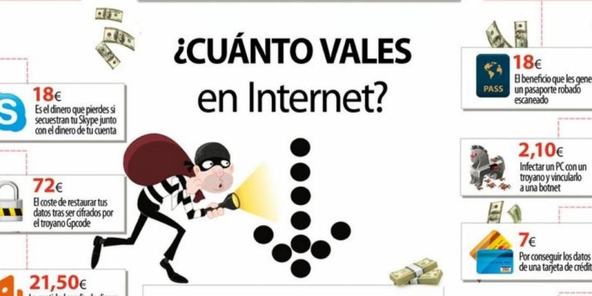 Infografía: ¿Cuánto dinero ganan los cibercriminales en internet?