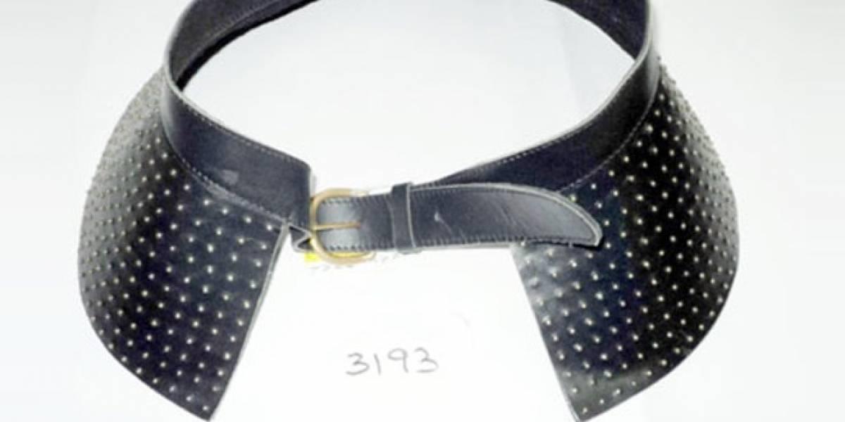 Detectan hebillas de cinturón radioactivas en catálogo de tienda online
