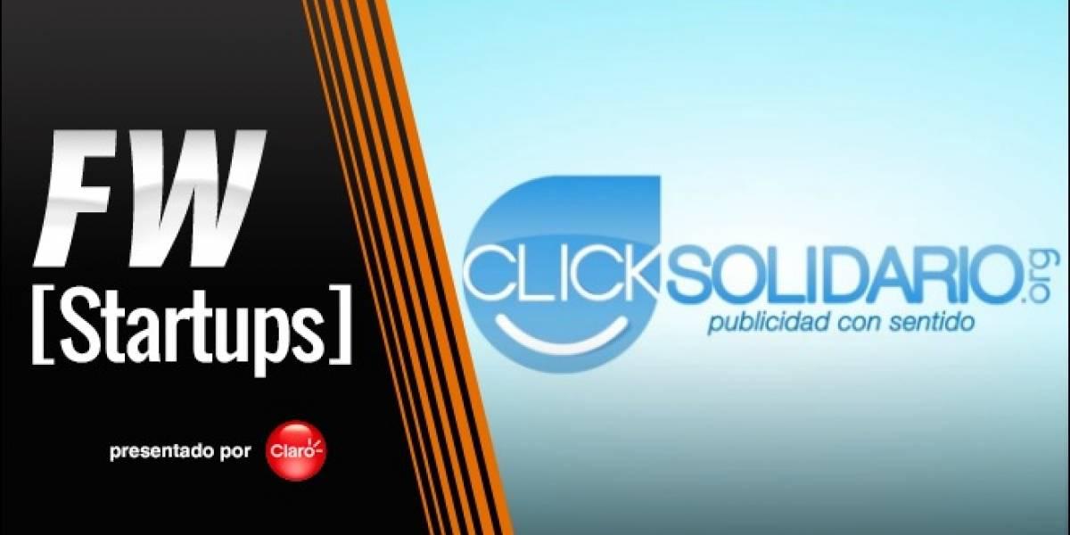 Click Solidario, publicidad a cambio de donaciones [FW Startups]