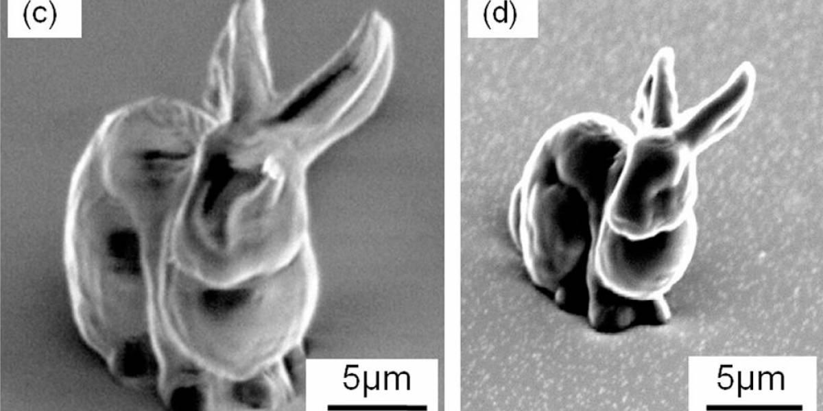 Científicos crean resina para moldear estructuras microscópicas complejas en 3D
