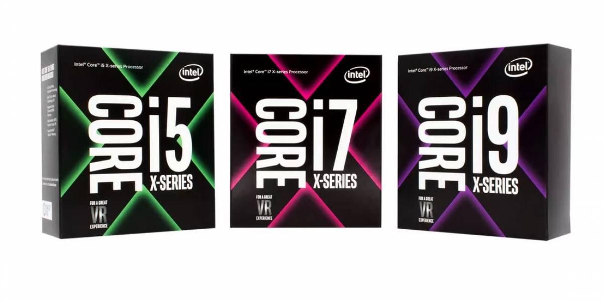 Intel revela especificaciones y fecha de lanzamiento de su serie Core X
