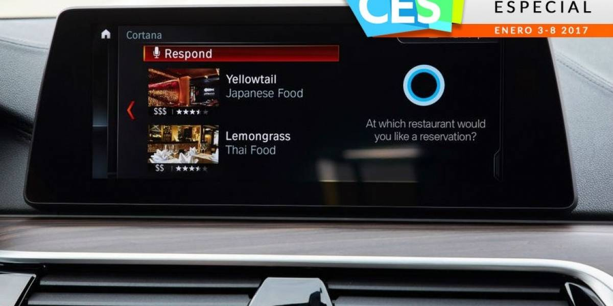 Nissan y BMW traen a Cortana a sus autos #CES2017
