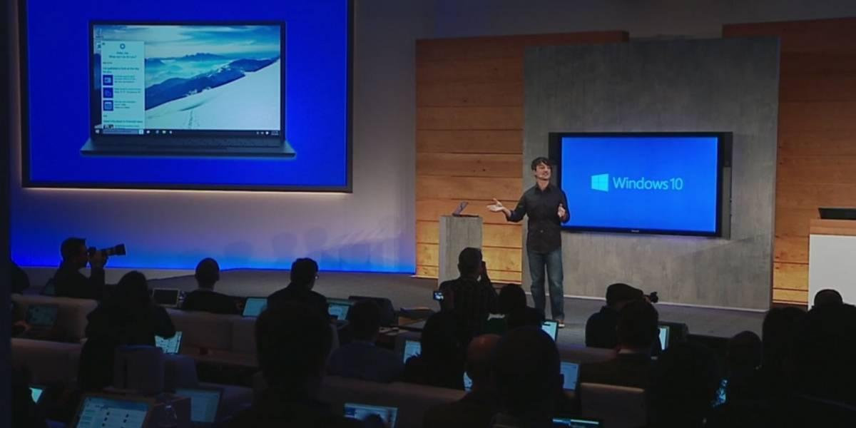 Cortana estará presente en la versión de escritorio de Windows 10