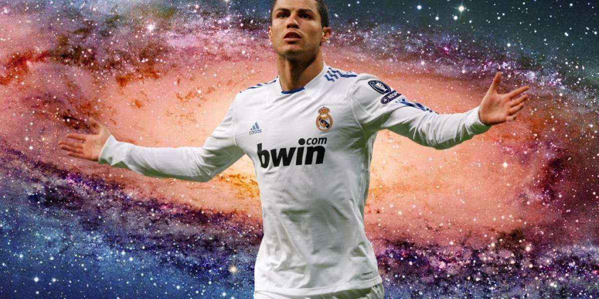 Nombraron a una galaxia 'CR7' en honor a Cristiano Ronaldo
