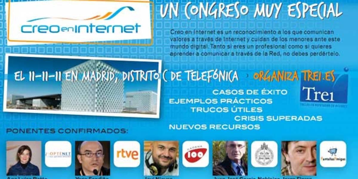 Creadores y Creyentes en Internet se darán cita en Madrid