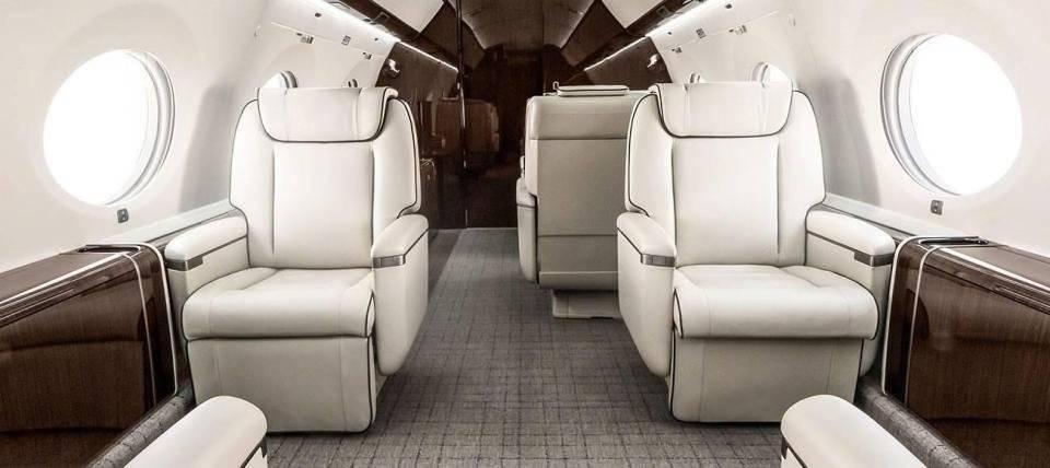 1º - Cristiano Ronaldo tem um Gulfstream G650 avaliado em 31,7 milhões euros Divulgação