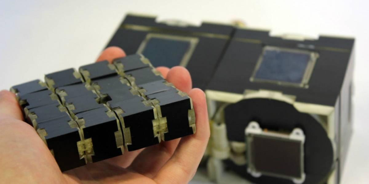 Cubimorph: Cubos con pantallas táctiles que toman la forma que quieras