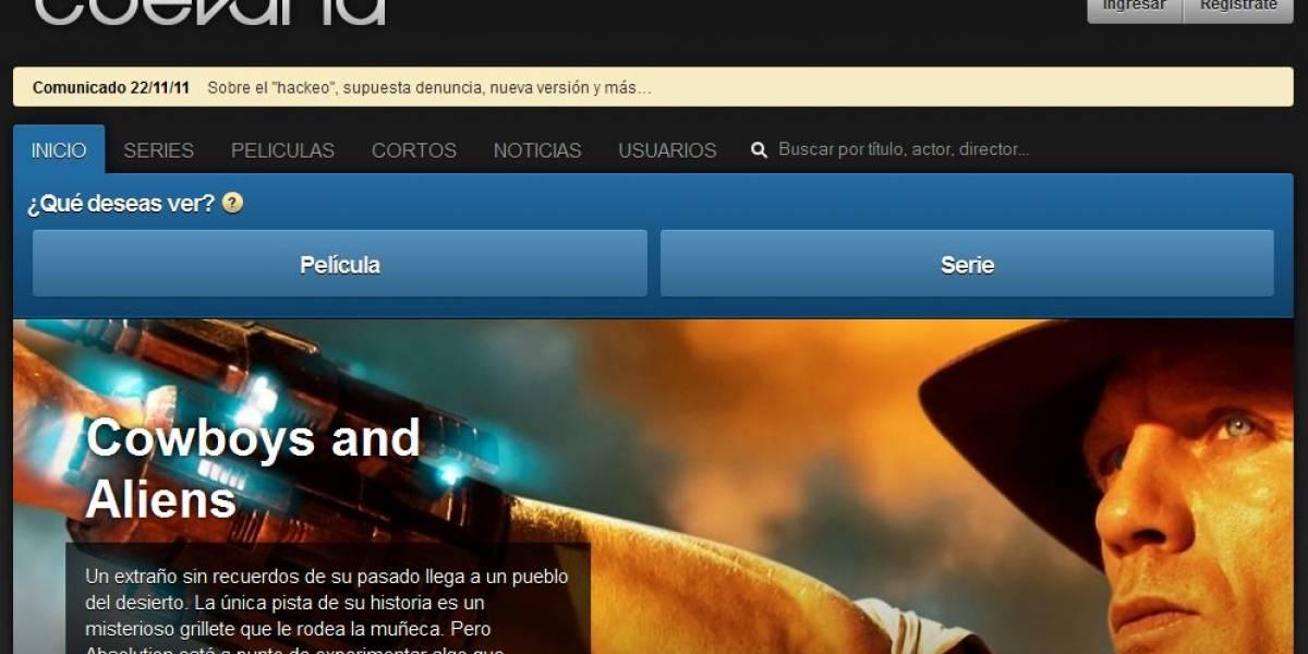 """El creador de Cuevana aclaró la situación del portal en un comunicado: """"No hubo denuncia penal"""""""