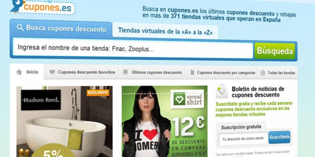 Cupones.es: Descuentos para compras en Internet en toda España