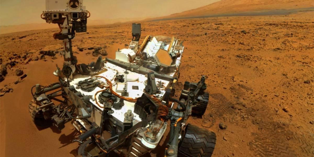 Curiosity ahora podrá disparar de forma autónoma su láser en suelo marciano